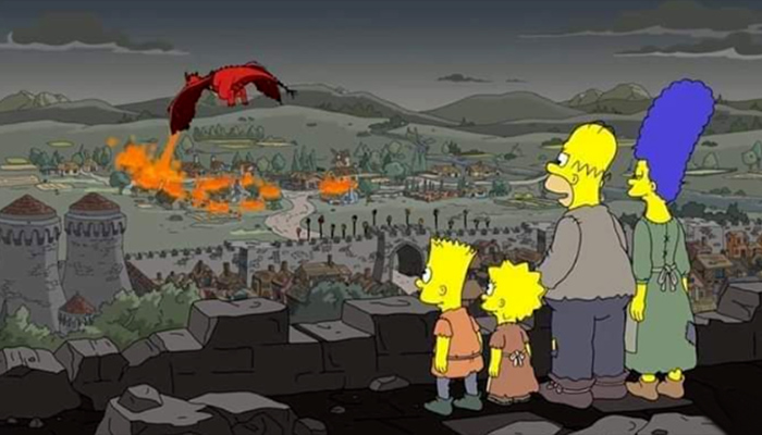 simpsons predicts again game of thrones