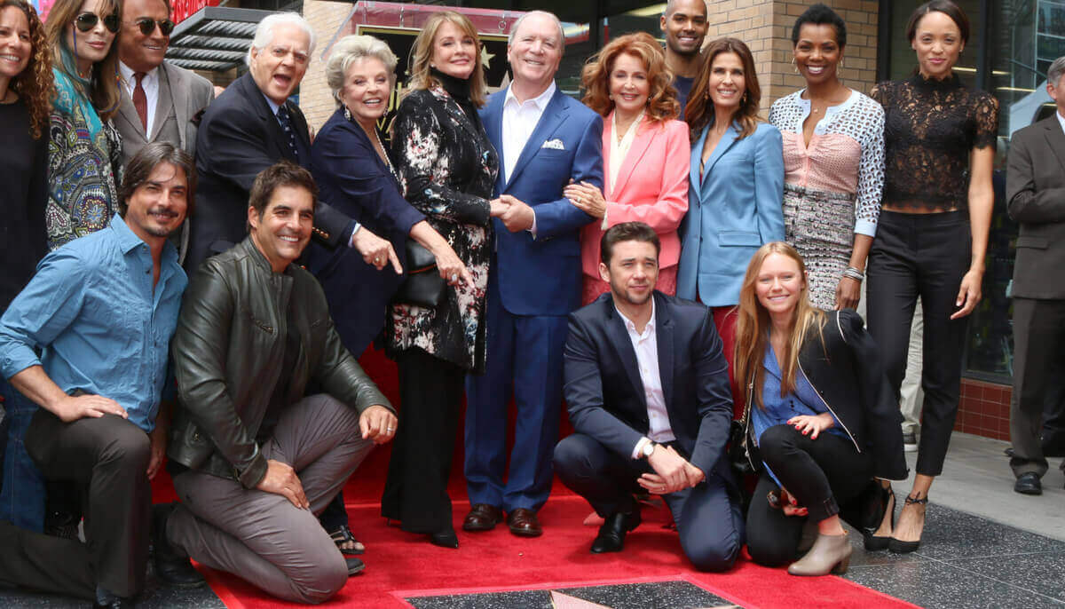 Days of Our Lives stars on Hollywood Walk of Fame