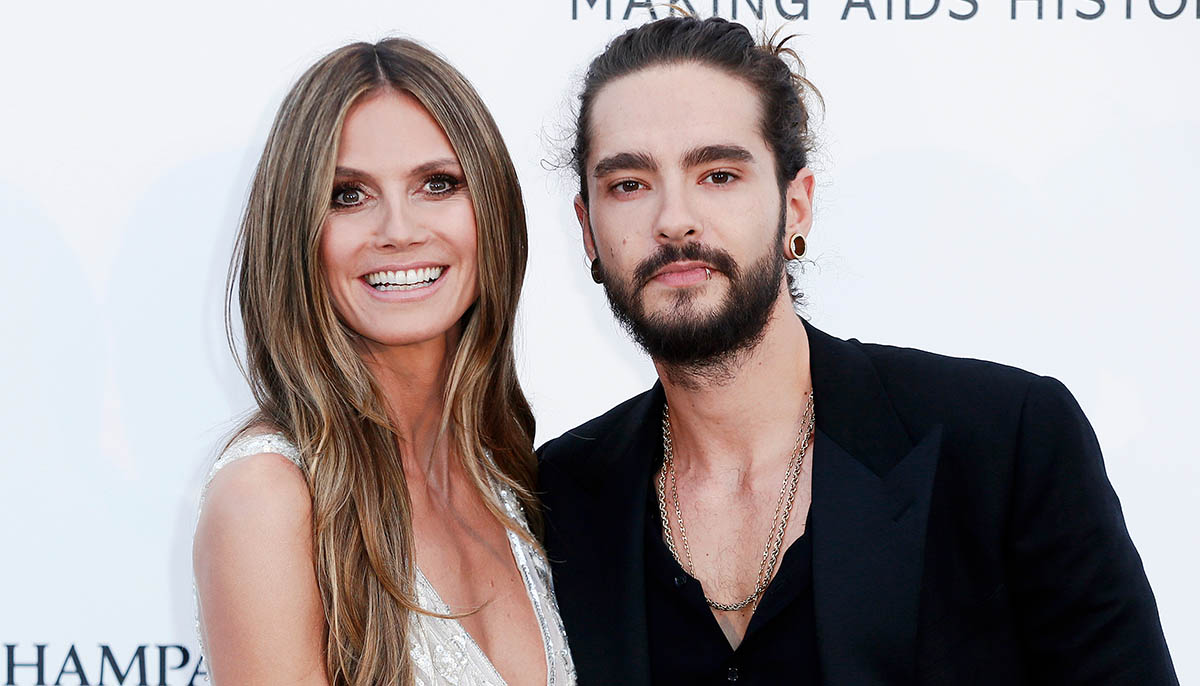 Heidi Klum and husband Tom Kaulitz
