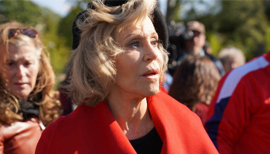 Jane Fonda arrested for second time this month at the U.S. Capitol.