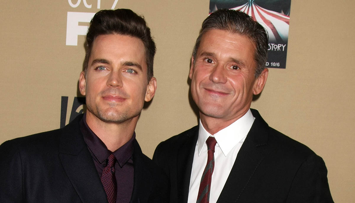 Matt Bomer and husband Simon Halls