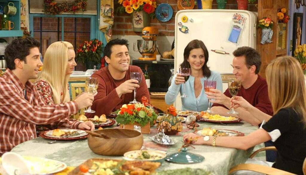 Friends Thanksgiving movie marathon coming to theaters November