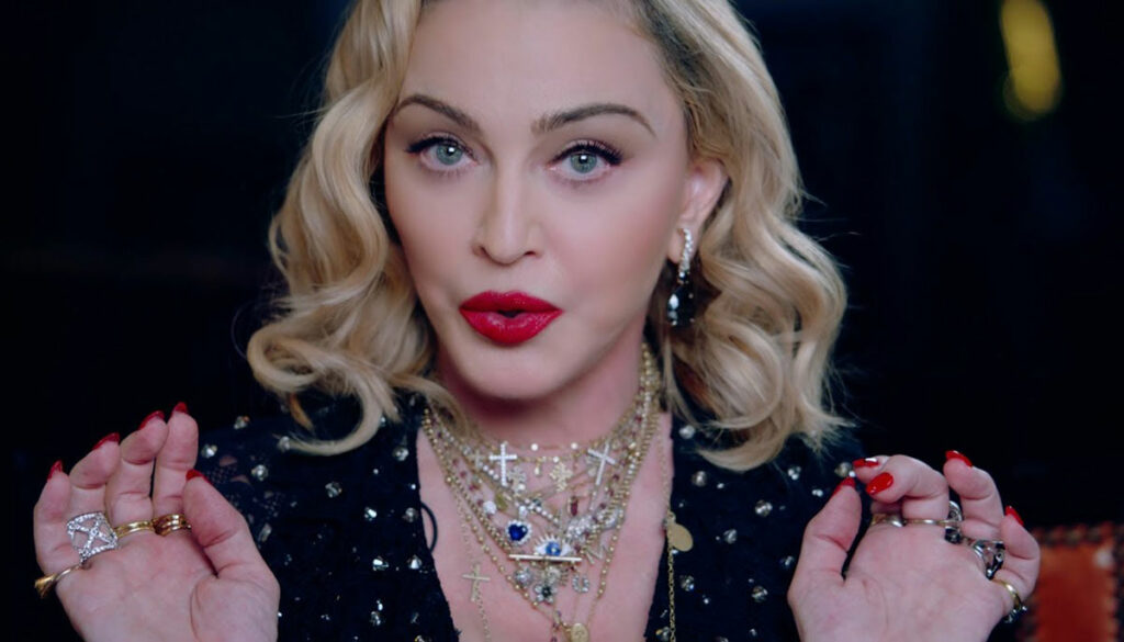 madonna from a madame x tour video announcement