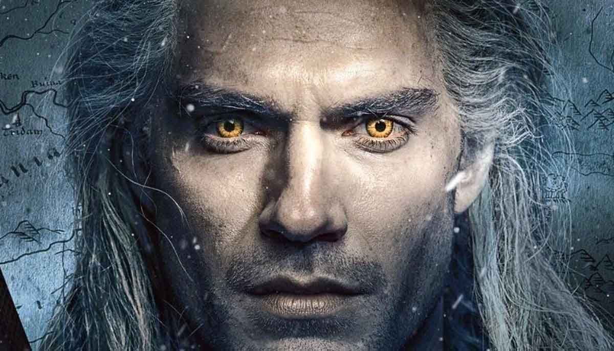 Geralt from The Witcher on Netflix