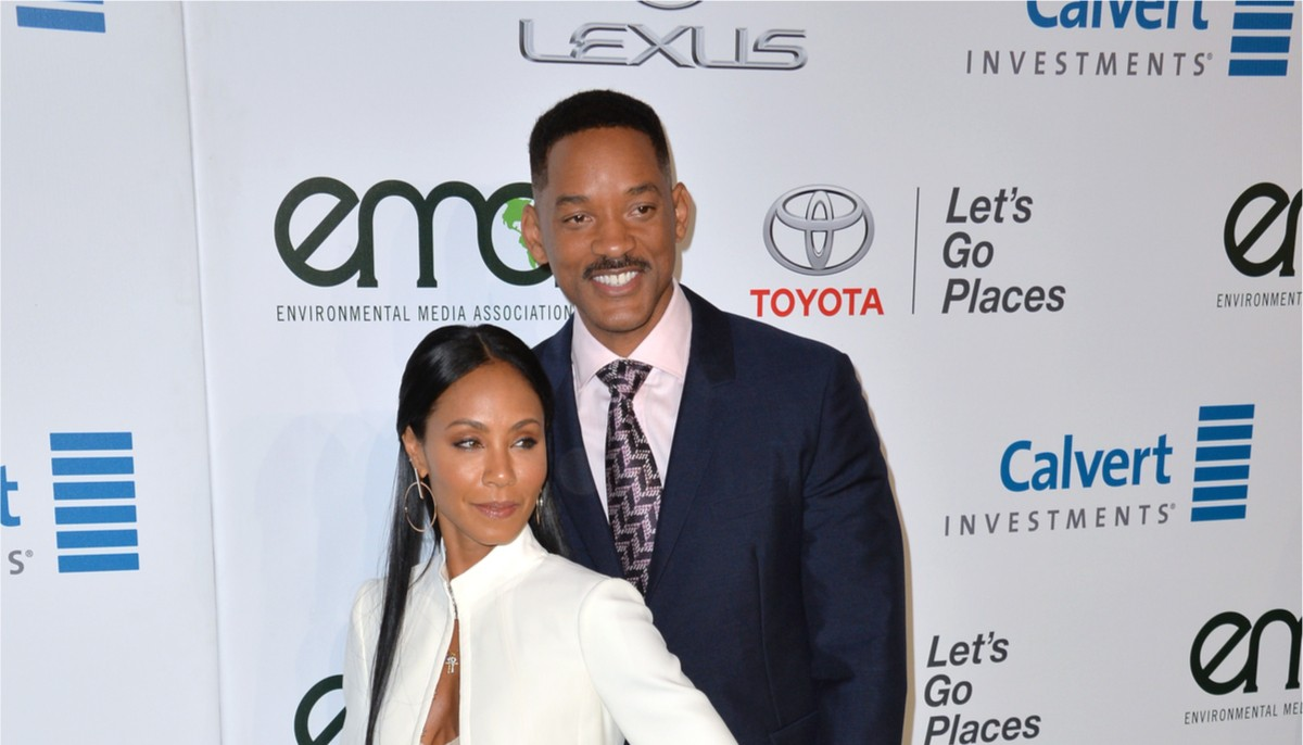 will smith and jada pinkett smith at a red carpet event