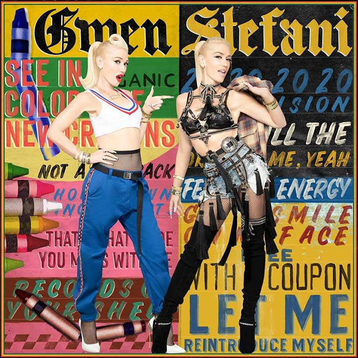 """Gwen Stefani in """"Just a Girl"""" throwback for """"Let Me Reintroduce Myself"""""""